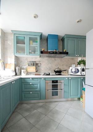 开放式厨房设计效果图