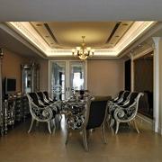 90平方米房屋装修桌椅图