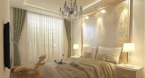 中式风格窗帘装修效果图