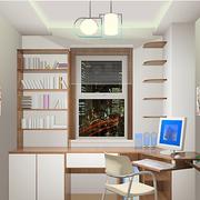 简约风格小书房装修吊顶图