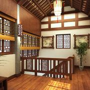 中式风格楼梯设计灯光设计