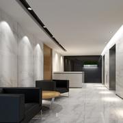 办公室装修走廊图