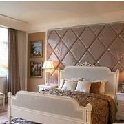 欧式风格卧室壁纸装修背景墙图