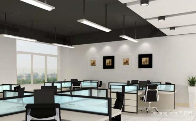 备受年轻人青睐的办公室装修效果图