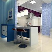 小厨房吧台装修整体图