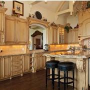 欧式风格厨房装修背景墙