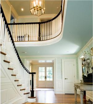 自由率性的美式楼梯设计效果图图