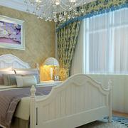 卧室背景墙装修飘窗图