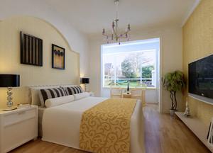 2015环境优美的单身公寓宜家卧室装修效果图