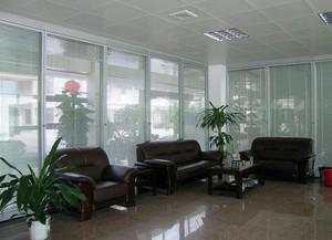 办公室室内盆栽装修设计图