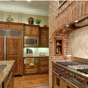 美式田园风格厨房装修实例