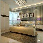 卧室壁纸装修造型图