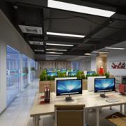 办公室设计装修吊顶图