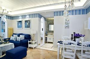 人见人爱的地中海风格餐厅背景墙装修效果图鉴赏