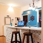 小厨房吧台装修灯光设计