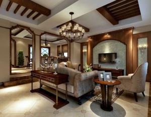 客厅吊顶装修设计效果图
