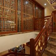 室内楼梯设计造型图