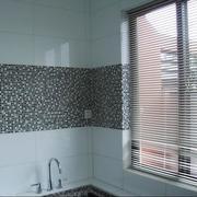 浴室百叶窗帘装修背景墙图
