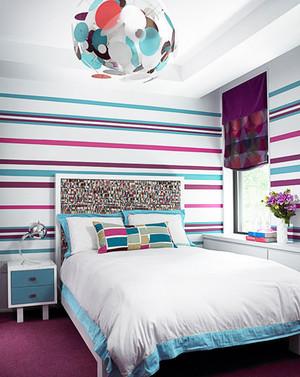 卧室墙纸装修效果图