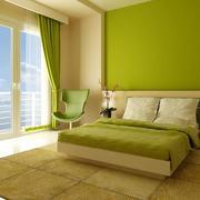 跃层式住宅卧室飘窗装修灯光设计