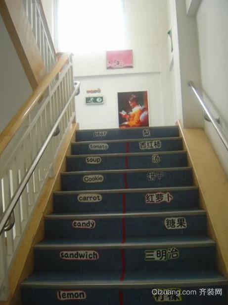 精美用心设计的室外台阶楼梯设计效果图