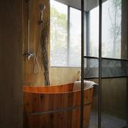 浴室百叶窗帘装修灯光设计