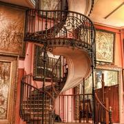 室内楼梯设计旋转图