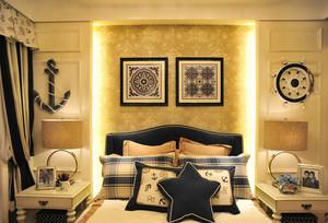令人心动不已的法式风格卧室背景墙装修图片鉴赏