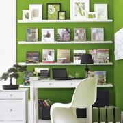 简约风格小书房装修造型图