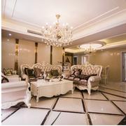 欧式风格榻榻米床装修客厅图