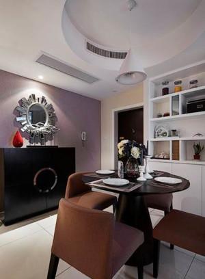 30平米现代简约风格U型厨房装修效果图