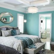 卧室软包背景墙装修色调搭配