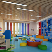 幼儿园装修设计吊顶图