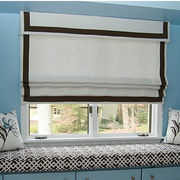 地中海风格窗帘装修造型图
