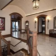 美式风格楼梯设计整体图