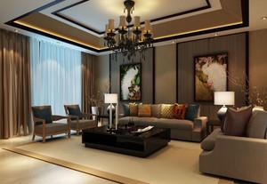 情有独钟的东南亚风格别墅客厅装修效果图欣赏