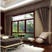 中式风格榻榻米床装修飘窗图