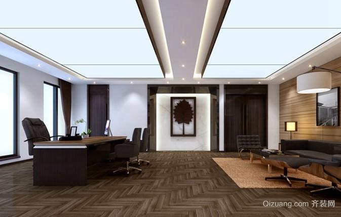 富有创意的现代简约办公室装修效果图