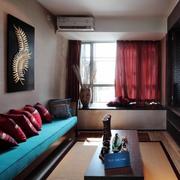 120平米小卧室装修窗帘图