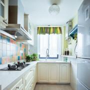 开放式厨房设计吊灯图