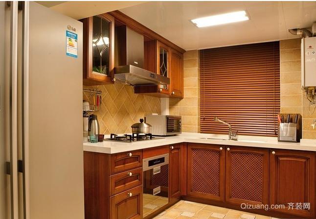 大户型有家的感觉的欧式厨房装修效果图