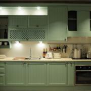 厨房欧派橱柜装修灯光设计