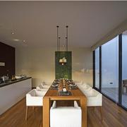 韩式风格厨房装修效果图