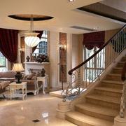 欧式风格楼梯装修造型图