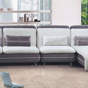 客厅懒人沙发装修地板图
