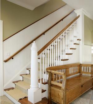 美式风格楼梯设计效果图