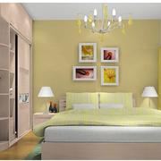 北欧风格卧室壁纸装修效果图