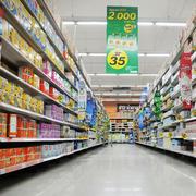 超市货架唯美图