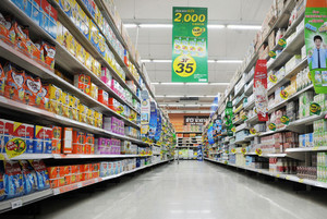 2015都市大户型超市货架装修效果图