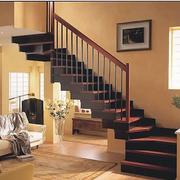 中式风格楼梯设计整体图
